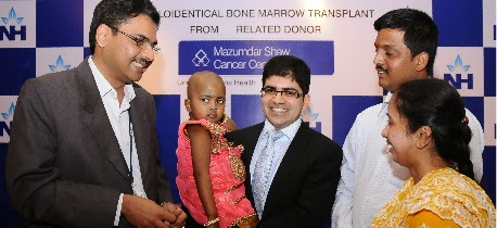 4 year Old Sania treated with Haploidentical Bone Marrow Transplant