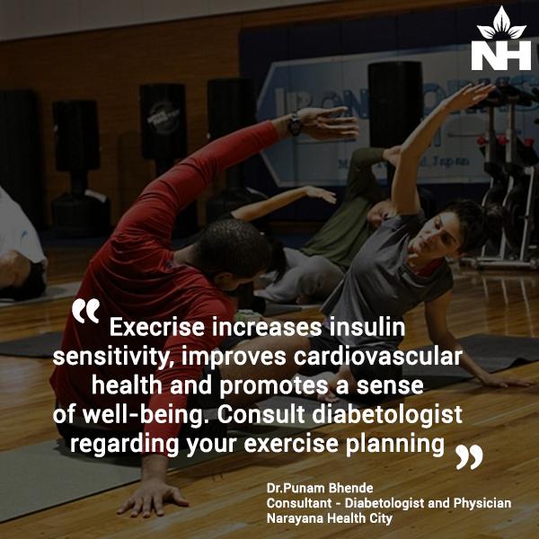 exercises to control diabetes