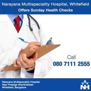 Narayana Health Checks in whitefield Bangalore