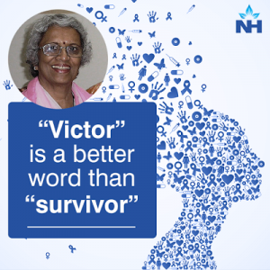 """Victor"""" is a better word than """"survivor"""
