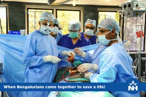 Heart Transplant surgeons in Bangalore at Narayana Health