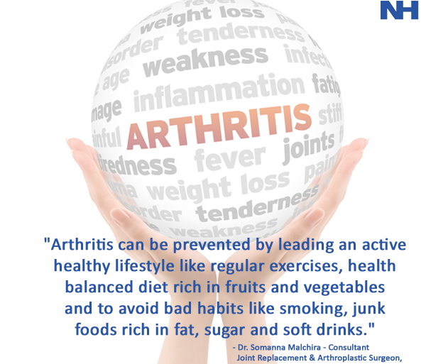 Catch up on arthritis before it catches up with you!