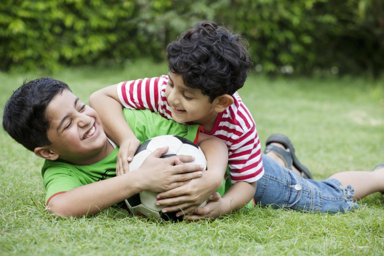 Engage your child in healthy physical activities