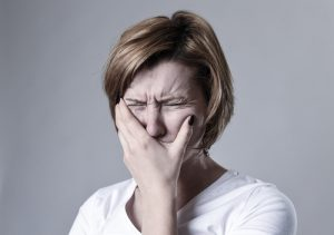 Facial Pain and Twitching