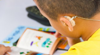 Deafness is as much a challenge as blindness
