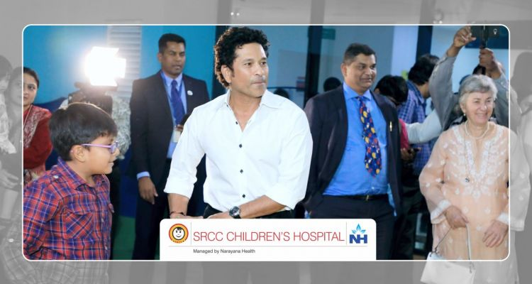 Inauguration of the state-of-the-art BMT unit at SRCC Children's Hospital managed by Narayana Health.