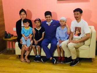 Narayana health city performs bone marrow transplant on Cambodian sisters.