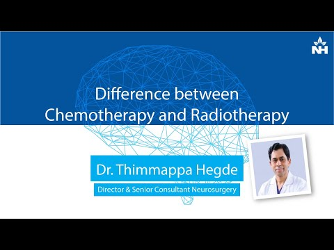 Difference between Chemotherapy and Radiotherapy | Dr. Thimappa Hegde