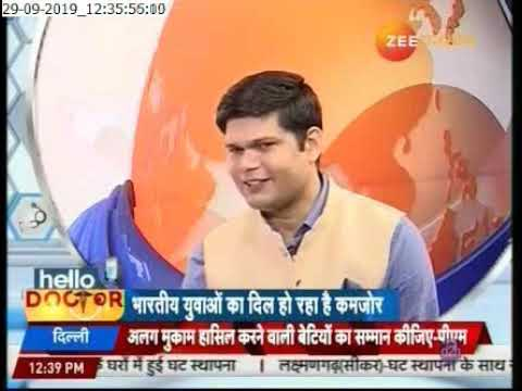 All about Heart Health on Zee Rajasthan News | Dr. CP Srivastava and Dr. Nikhil Choudhary