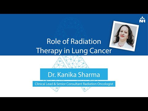 Role of Radiation Therapy in Treating Lung Cancer | Dr. Kanika Sharma (Hindi)