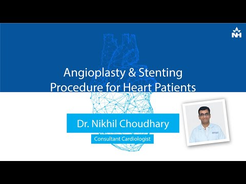 What is Angioplasty and Stenting Procedure for Heart Patients? | Dr. Nikhil Chaudhary (Hindi)
