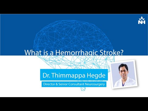 What is a Hemorrhagic Stroke? | Dr. Thimappa Hegde