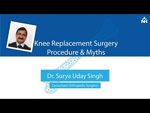 Un-complicating Knee Replacement Surgery: Procedure & Myths | Dr. Surya Uday Singh