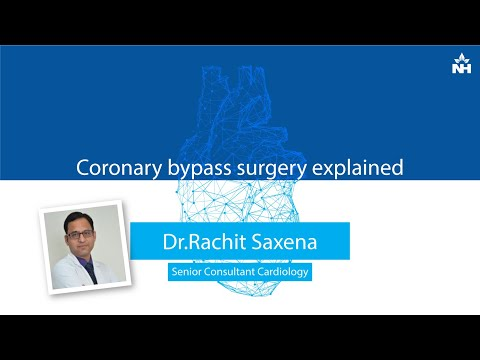 Coronary bypass surgery explained by Dr. Rachit Saxena