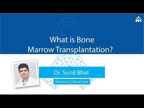 What is Bone Marrow Transplantation? | Dr. Sunil Bhat