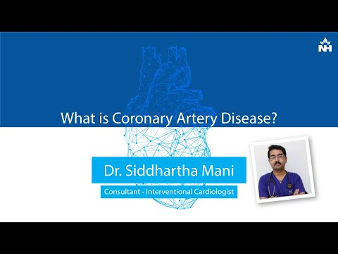 What is Coronary Artery Disease? | Dr Siddhartha Mani
