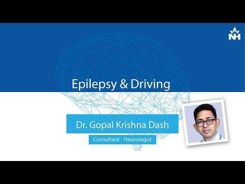 Is driving safe for people with Epilepsy | Dr. Gopal Krishna Dash