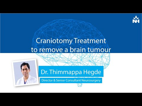 Craniotomy Treatment to remove a brain tumour | Dr. Thimappa Hegde