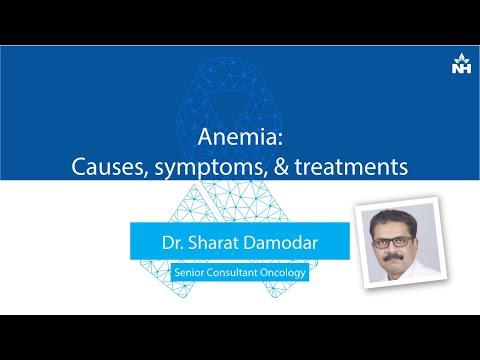 Anemia: Causes, symptoms & treatment | Dr. Sharat Damodar