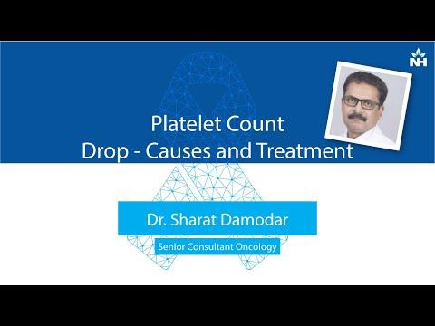 Platelet Count Drop: Causes & Treatment   Dr. Sharat Damodar