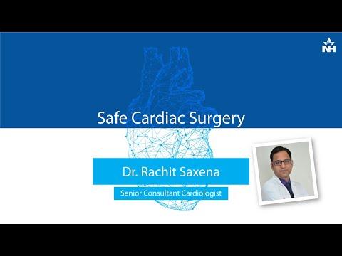 Safe Cardiac Surgery explained by Dr. Rachit Saxena