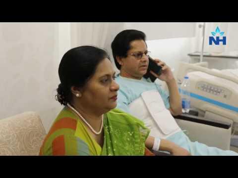 MD Sultan Uddin successfully treated for Heart Blockage at Narayana Health, Bangalore