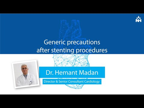 Important Precautions to Follow After Stenting Procedure | Dr. Hemant Madan